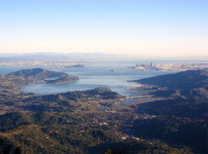 Mount Tam view from 12-13